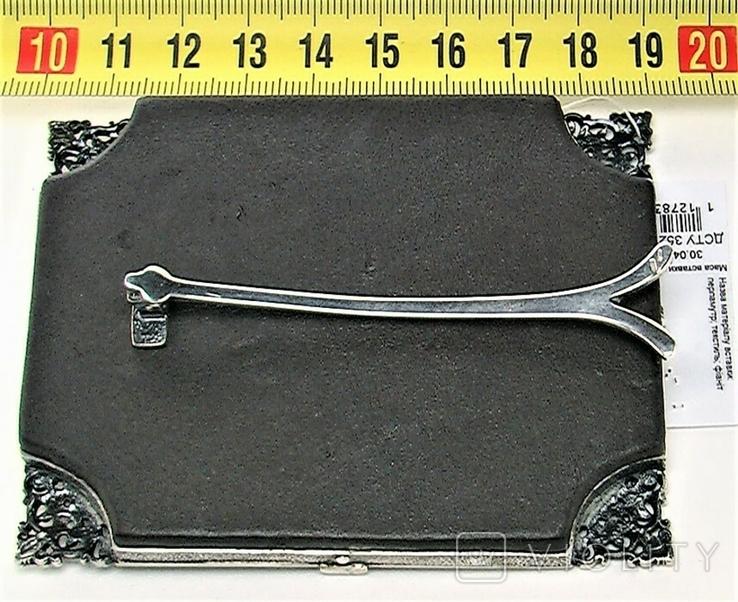 Икона серебро 925 проба 113,50 грамма, фото №6