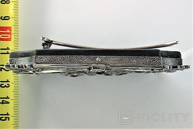 Икона серебро 925 проба 113,50 грамма, фото №7