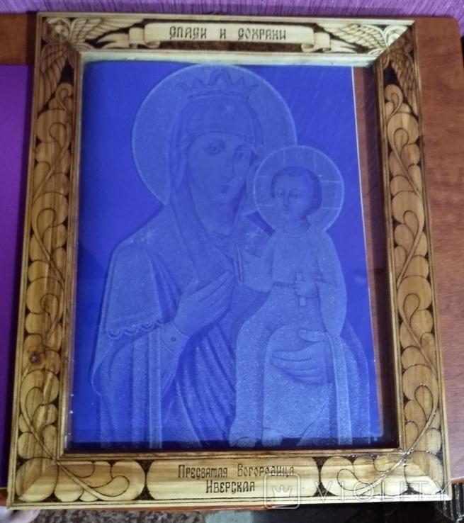"""Икона""""Присвятая Богородица Иверская"""", фото №5"""