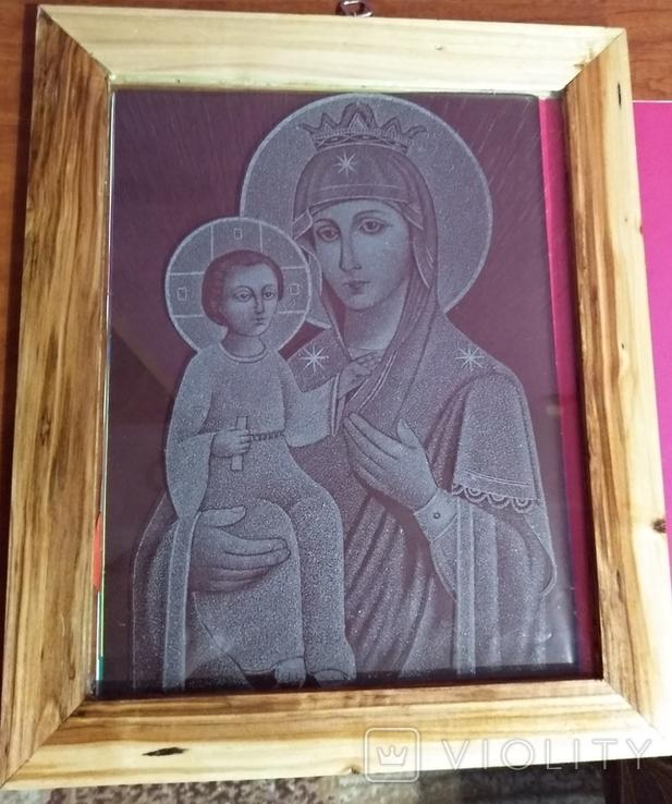 """Икона""""Присвятая Богородица Иверская"""", фото №6"""