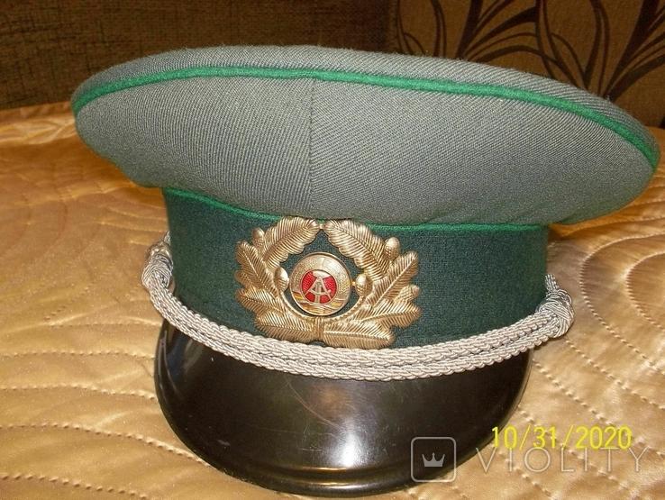 Фуражка  офицерская  фолькс  полиции  ГДР., фото №2
