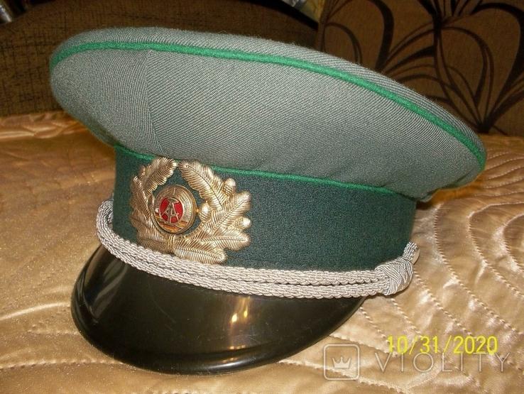 Фуражка  офицерская  фолькс  полиции  ГДР., фото №7