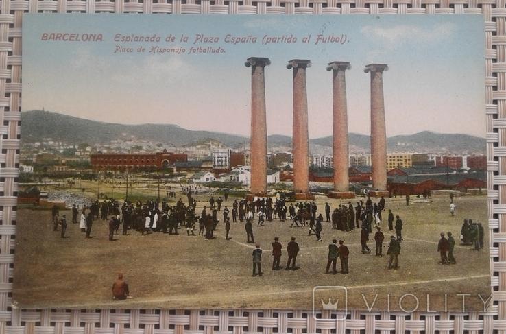 Почтовая открытка Испания до 1939 Ed.Jorge Venini-Barcelona, фото №2