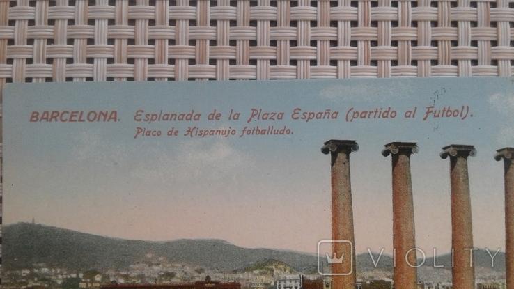 Почтовая открытка Испания до 1939 Ed.Jorge Venini-Barcelona, фото №3
