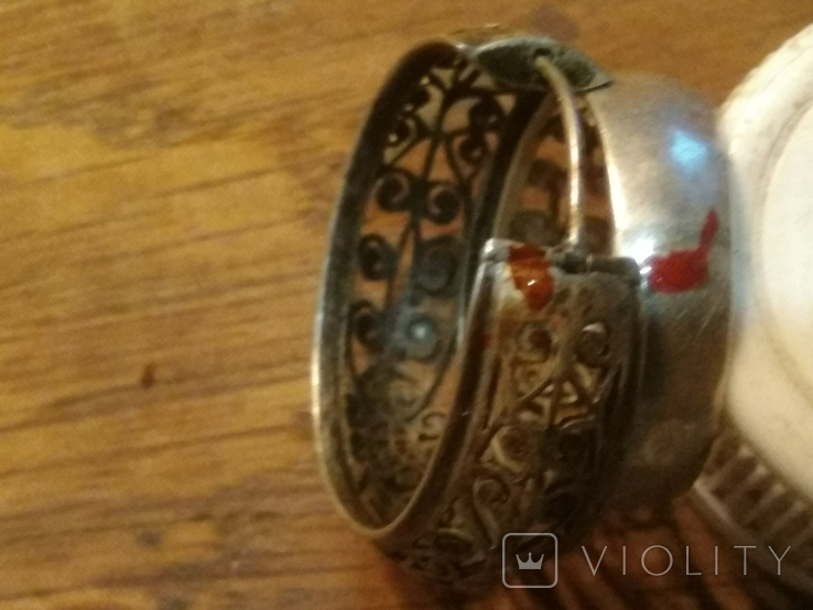 Кольцо, серьги., фото №4