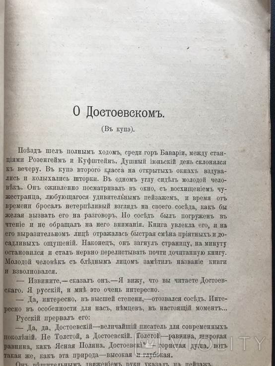 1900 Волынский Борьба за идеализм Достоевский Ницше Гоголь Мережковский Бальмонт Гиппиус, фото №6