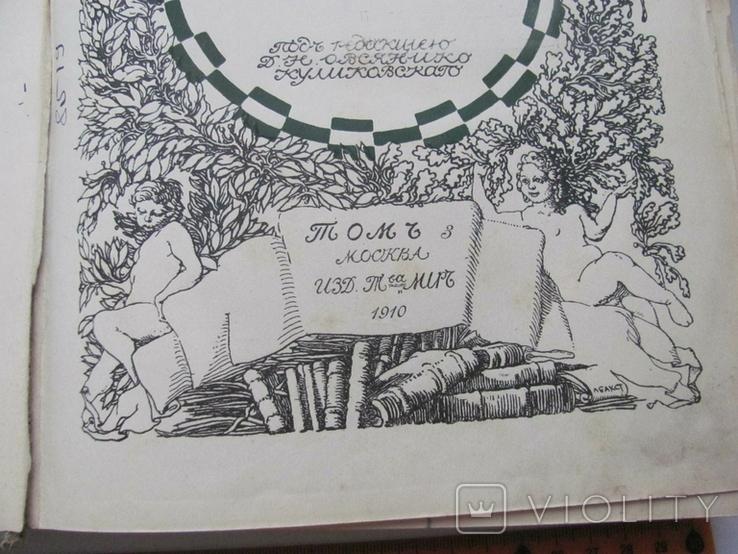История русской литературы XIX века. Том 3.1910 г, фото №6