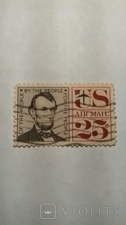 Марка Сша 25 центов, фото №2