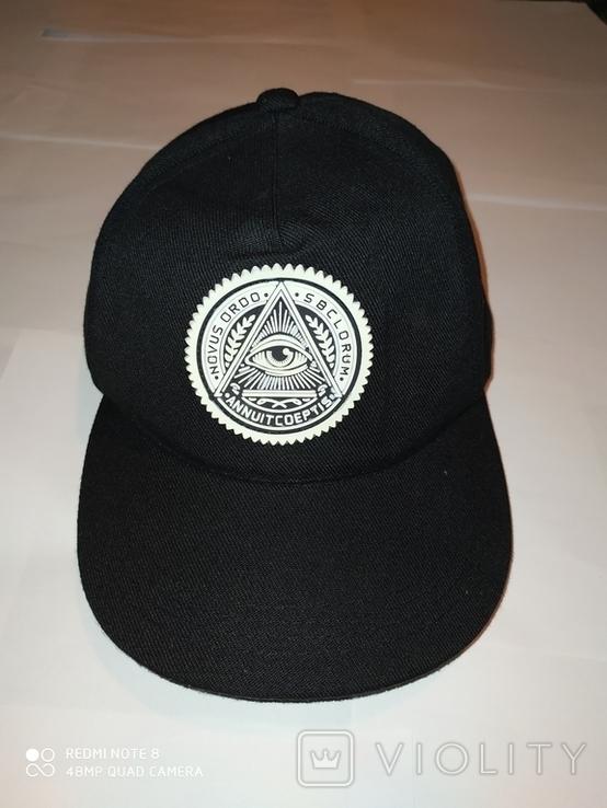 Бейсболка, кепка Novus Ordo Seclorum, Масонство, фото №2