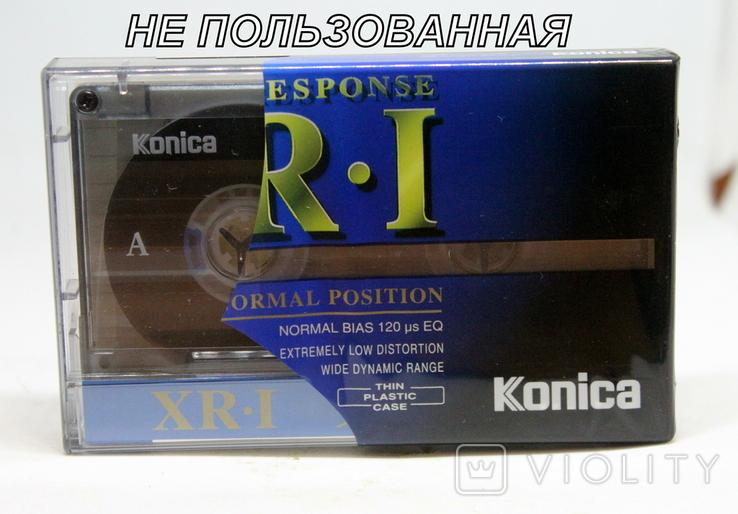 Аудиокассета Konica XR-1 90-( Не пользованная)-чистая, фото №2