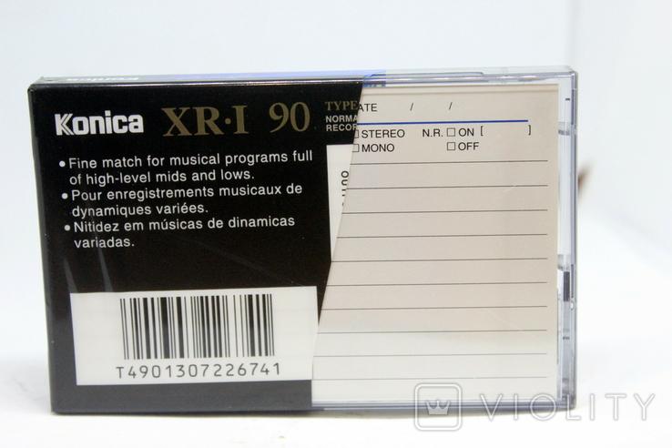 Аудиокассета Konica XR-1 90-( Не пользованная)-чистая, фото №4