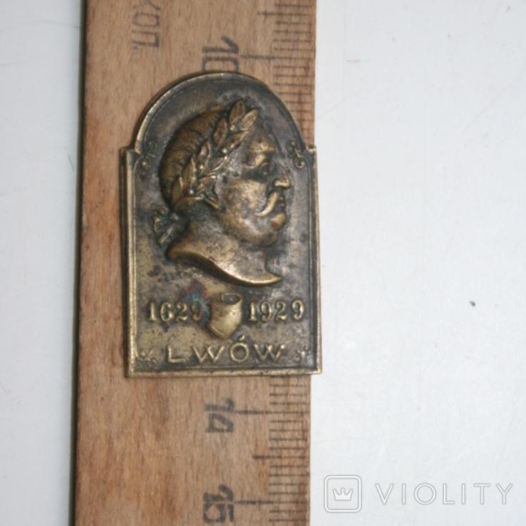 Знак львів 1629-1929, фото №2