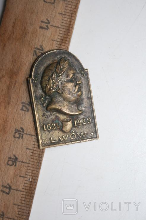 Знак львів 1629-1929, фото №4