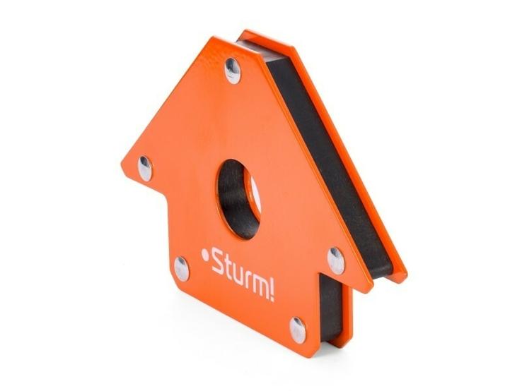 Магнитный угольник для сварки Sturm AWM-25, 25 кг, фото №4