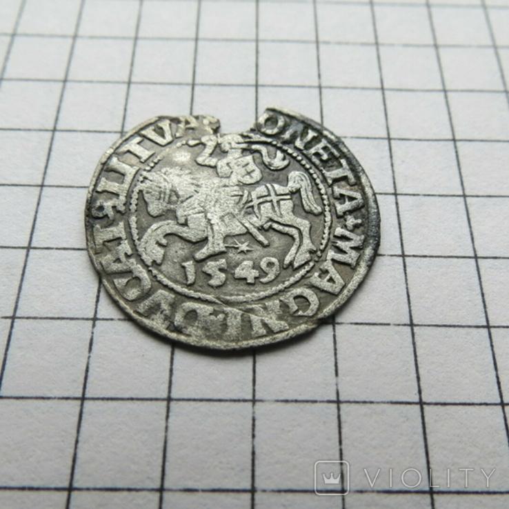Полугрош.1549 г., фото №3