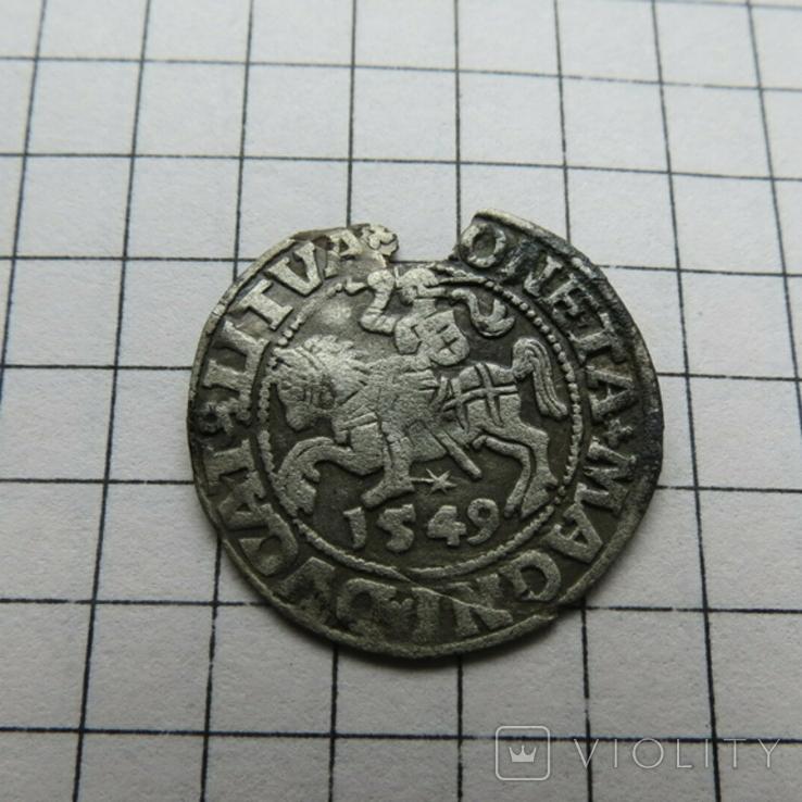 Полугрош.1549 г., фото №4