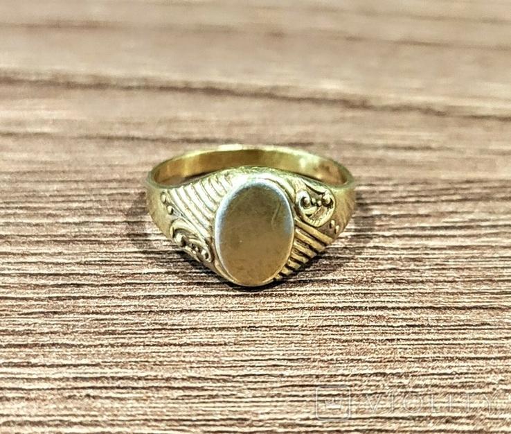 Женское кольцо. Серебро. 875 проба, фото №3