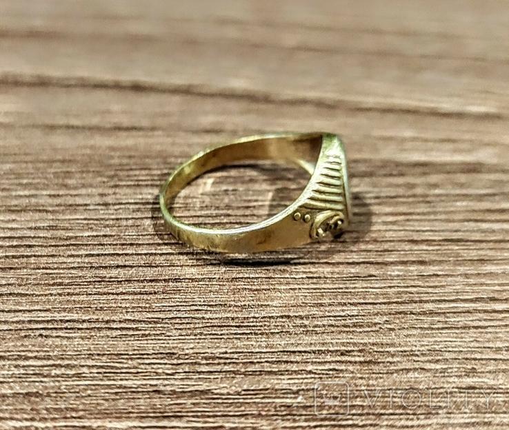 Женское кольцо. Серебро. 875 проба, фото №4