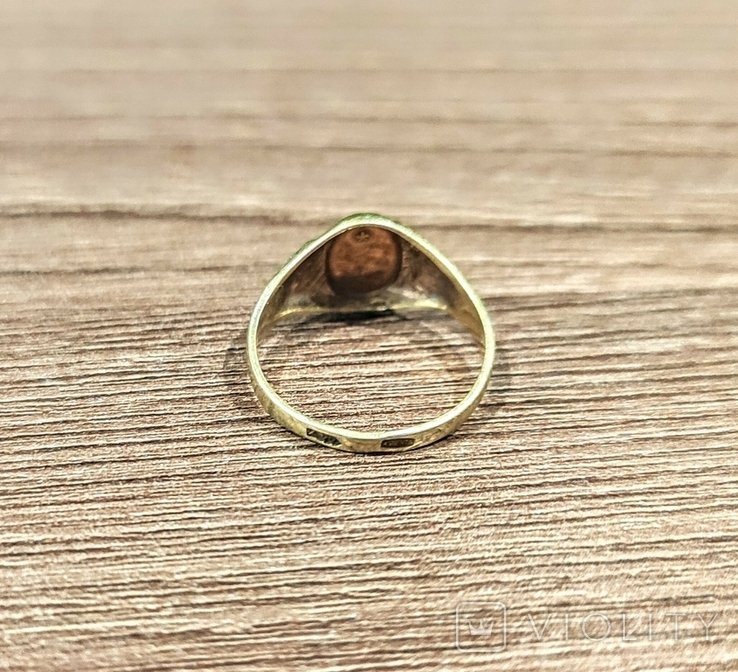 Женское кольцо. Серебро. 875 проба, фото №5