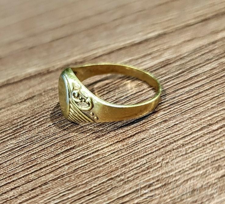 Женское кольцо. Серебро. 875 проба, фото №6