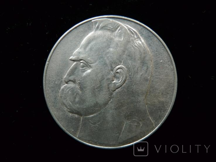 10 злотых 1936 год, фото №2