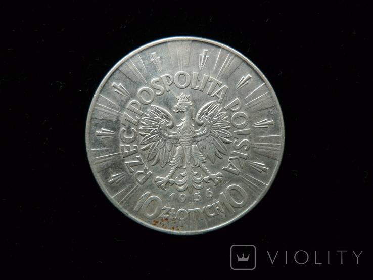 10 злотых 1936 год, фото №5