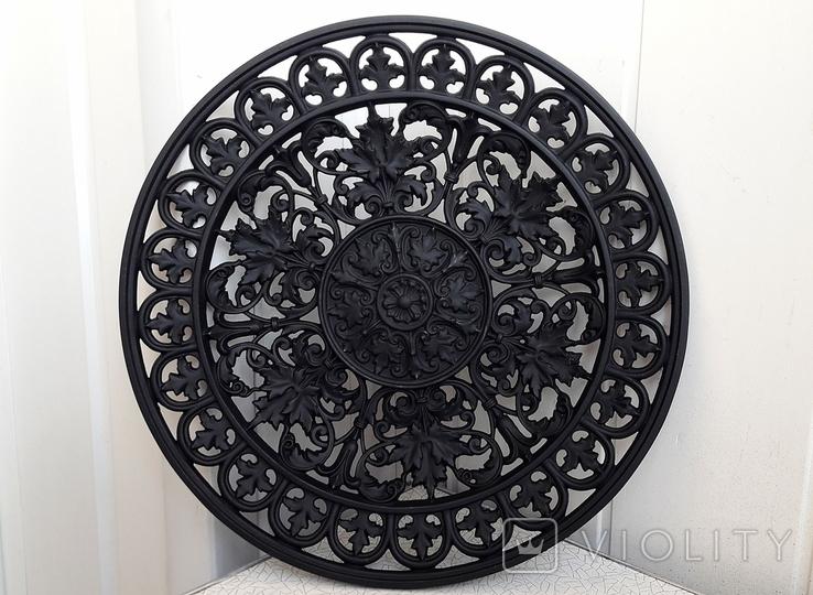 Коллекционная чугунная тарелка BUDERUS