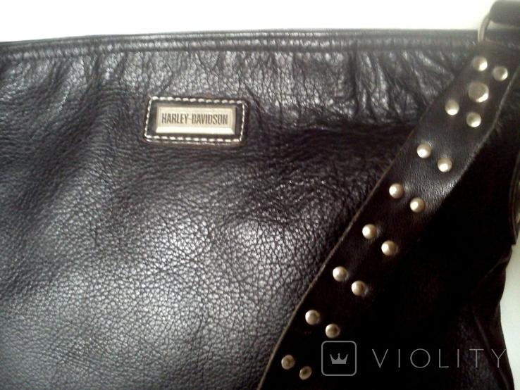 Кожаная сумка HARLEY-DAVIDSON, фото №3