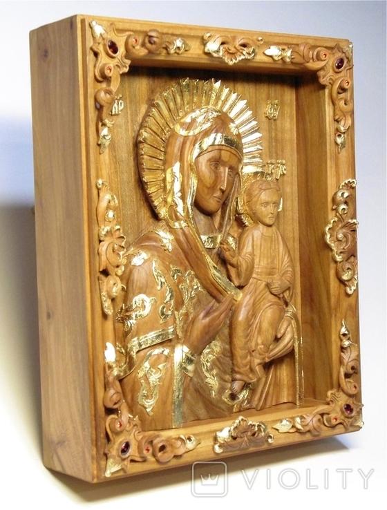 Икона Смоленской Богородицы, фото №3