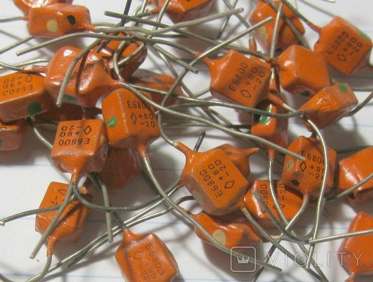 Конденсаторы КЛС 6800 пф, фото №3