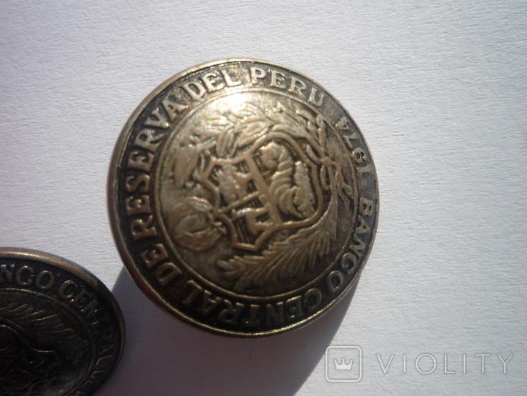 Пуговичкы центрального банка перу, фото №3