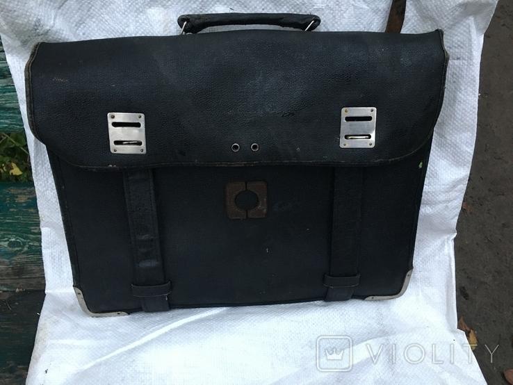 Старая пожиная сумка, фото №2