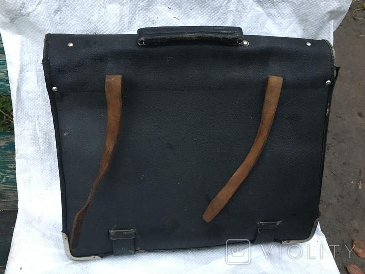 Старая пожиная сумка, фото №4