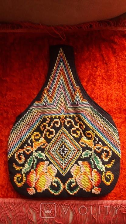Сумка с вышивкой. Торба, фото №3