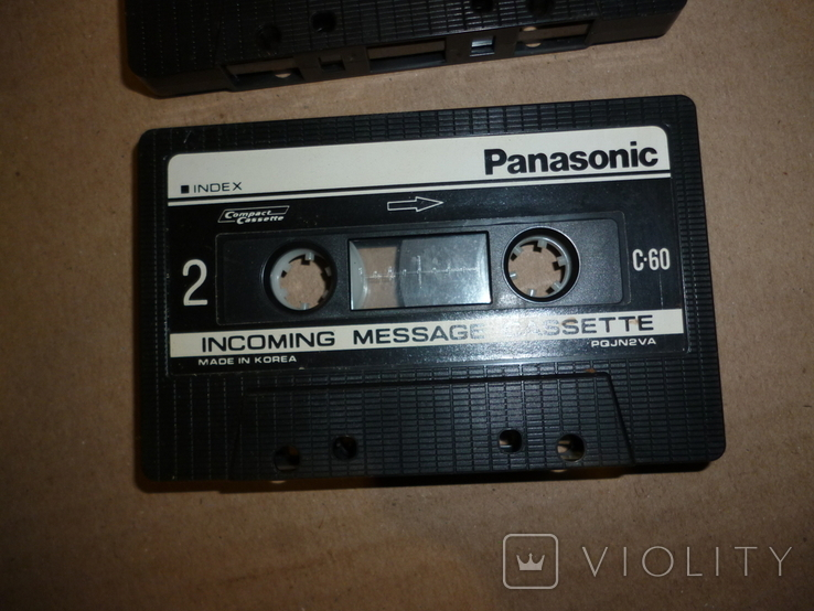 Кассета аудио Panasonic PQJN2VA C-60, фото №3