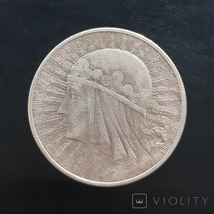 10 злотих 1932, фото №3