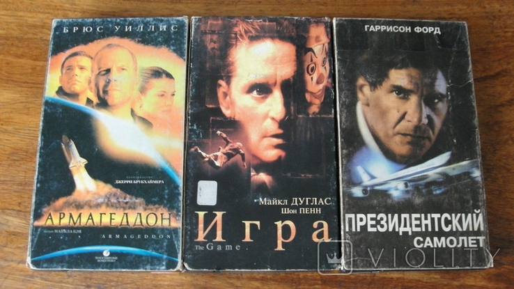 Кассеты с фильмами, фото №2