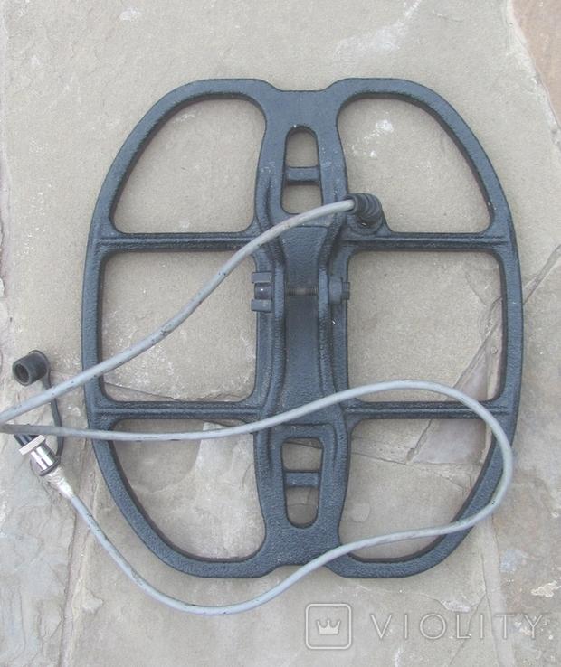 Металлоискатель Маска, 2 катушки, уши, фото №8