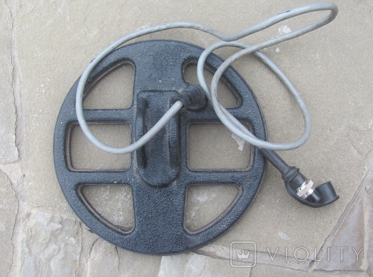 Металлоискатель Маска, 2 катушки, уши, фото №10