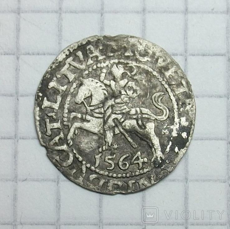 Полугрош 1564 года., фото №6