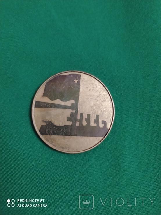 Настольная медаль на тяжелом металле, фото №2