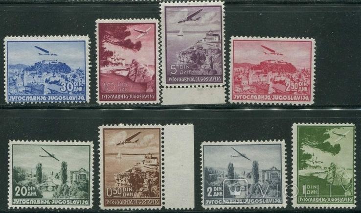 1937 Югославия авиапочта самолеты полная серия  MNH / MH