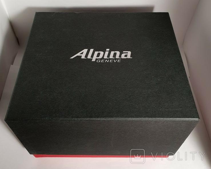 Новые Alpina Smartwatch AL-285BTD3CD6 с бриллиантами, фото №3