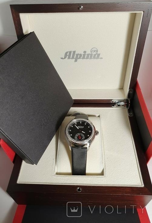 Новые Alpina Smartwatch AL-285BTD3CD6 с бриллиантами, фото №4