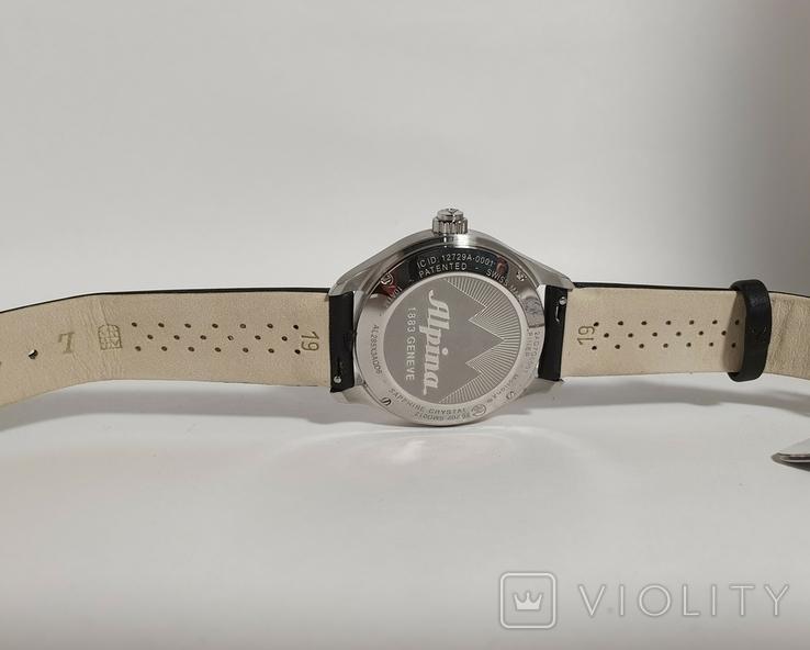 Новые Alpina Smartwatch AL-285BTD3CD6 с бриллиантами, фото №5
