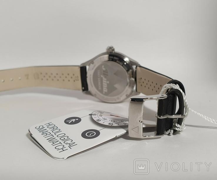 Новые Alpina Smartwatch AL-285BTD3CD6 с бриллиантами, фото №6