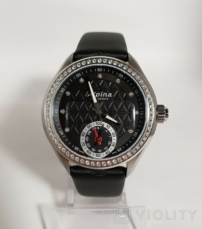 Новые Alpina Smartwatch AL-285BTD3CD6 с бриллиантами, фото №2