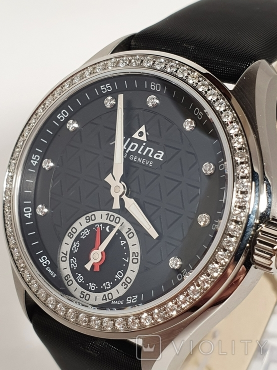 Новые Alpina Smartwatch AL-285BTD3CD6 с бриллиантами, фото №9