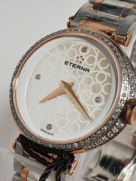 Новые  Eterna Grace 2561.59.61.1724 с бриллиантами, фото №12