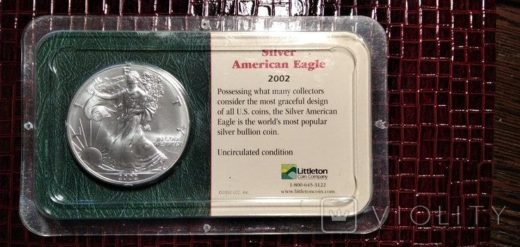 Доллар Шагающая Свобода 2002 года, фото №2